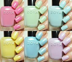 The TraceFace Philes: Zoya Delight Collection!