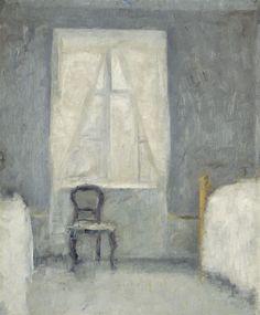 Vilhelm Hammershøi - Sovekammer (1890).jpg