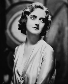 Very young Bette Davis.