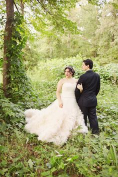 {Real Plus Size Wedding} Classic Garden Wedding | This is You By Mark and Tracy | Pretty Pear Bride