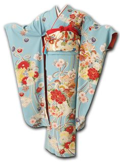 Japanese Embroidery Kimono product name Sashiko Embroidery, Japanese Embroidery, Embroidery Kits, Embroidery Designs, Simple Embroidery, Traditional Kimono, Traditional Fashion, Traditional Outfits, Traditioneller Kimono