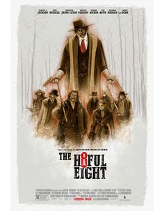 The Hateful Eight by MO CARO