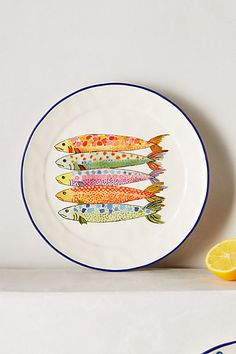 Sardina Side Plate - anthropologie.com