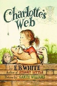 """It is not often that someone comes along who is a true friend and a good writer. Charlotte was both.""  I loved this book as a small kid."