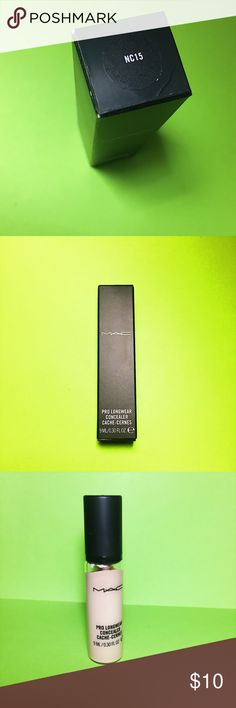 MAC Cosmetics Pro Longwear Concealer NC15 New with box! MAC Cosmetics Makeup Concealer
