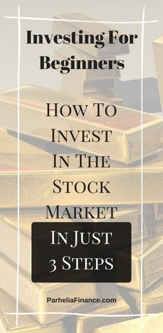 Are you looking to invest in the stock market? Learn the basics of investing for beginners and how to invest in the stock market today! You can start investing in stocks in just 3 steps. Click through to learn how to start investing your money! Stock Market Investing, Investing In Stocks, Investing Money, Buy Stocks, Saving Money, Silver Investing, Saving Tips, Stocks For Beginners, Stock Market For Beginners