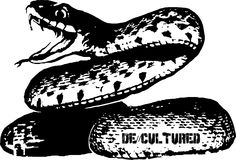 De\\Cultured - Snake - Urban Design of a Snake using Stencil Graffiti Style Artwork US Store for Snake Design : http://decultured.spreadshirt.com/de-cultured-snake-I1000229129 Facebook Page : https://www.facebook.com/Decultured Twitter Page : https://twitter.com/DeCultured_Co