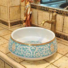 Basin, Bathroom Addition, Ceramic Sink, Romantic Decor, Bathroom Fixtures, French Interior, Basin Design, Bathroom Decor, Sink