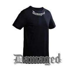 T-shirt Damaged Black-TUITGEBREIDE OMSCHRIJVINGSAN-25612003-JiveCOLORBlack (zwar