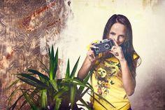 DANSE APACHE: Foto Campagna Estate. Tshirt Donna modello Miami. www.danseapache.com/