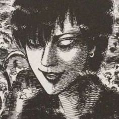 Gothic Anime, Japanese Horror, Japanese Art, Arte Horror, Horror Art, Arte Grunge, Manga Anime, Anime Art, Junji Ito