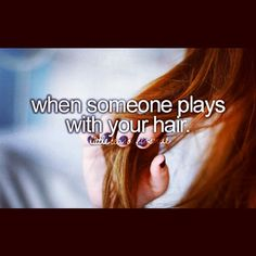 little reasons to smile | Tumblr I hope when I get a boyfriend he plays with my hair.