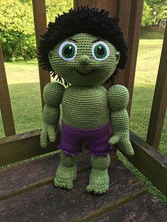 Hulk Crochet Pattern