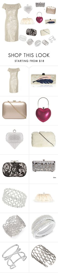 """""""New Yearr"""" by julie4ever ❤ liked on Polyvore featuring Dorothy Perkins, Edie Parker, Chicnova Fashion, Accessorize, Adriana Orsini, Swarovski, Vince Camuto and Giuseppe Zanotti"""
