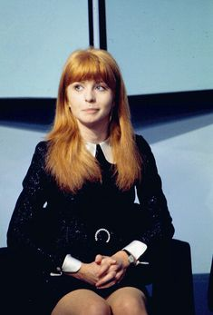 Jane Asher, on the David Frost show in 1968