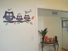 halloween wall stickers. halloween wall decals. pumpkin wall stickers. pumpkin wall decals