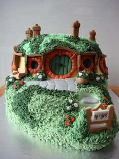 The Hobbit Hole Cake - Cake by Israel