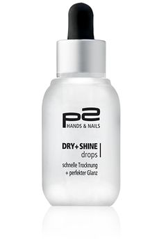 p2 cosmetics Dry + Shine Drops