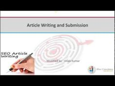 Spendid video that explains importance of article writing for SEO for all kind of companies including software companies in India