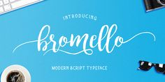 Bromello, font by alitdesign. Bromello can be purchased as a desktop and a web font.