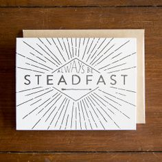 SURVIVAL LETTERPRESS CARD - MORE AWESOME CARDS WHERE THIS CAME FROM. $3.50 #CARDS #LETTERPRESS #PRINT #DESIGN