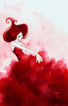 Selina Fenech Red Queen <3