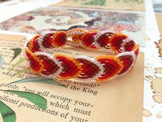 How to make the Leaves bracelet
