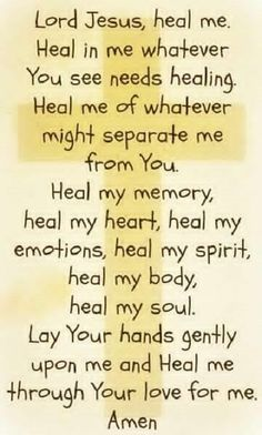 healing prayer for nurses
