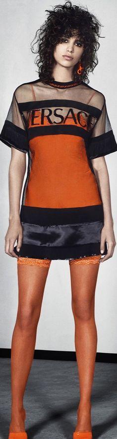 Versace Resort 2016 #FashionTrends #WomenFashion