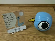 A great example of our upcoming Paint Your Pumpkin Like a Children's Book Character challenge!