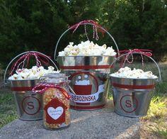 Personalized family popcorn set/ housewarming gift- Neighbor Christmas Gift #affiliate