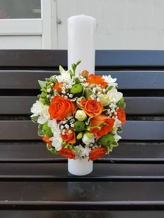 Wedding Flowers, Candles, Table Decorations, Home Decor, Invitations, Decoration Home, Room Decor, Candy, Candle Sticks