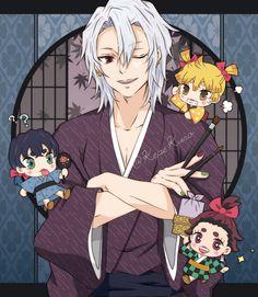 Demon Slayer, Slayer Anime, Anime Demon, Manga Anime, Me Me Me Anime, Anime Guys, Chibi, Identity Art, Harry Potter Characters