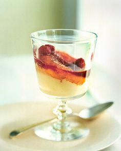 Caramelized Peach Melba - Martha Stewart Recipes