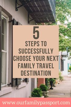 Choosing a travel destination can be hard, especially with different members of the family involved. Here are 5 of our expert tips to help deciding seem easy! | where to travel with kids family vacations | where to travel | where to travel 2020 | where to travel with family | where to travel with kids destinations | #vacation #familytravel #familyvacation #travelinspiration #travelwithkids #traveltips