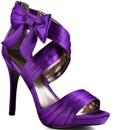 Purple Bow Heels | Tsaa Heel