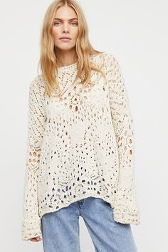 Shop our Traveling Lace Sweater at FreePeople.com. Share style pics with FP Me, and read & post reviews. Free shipping worldwide - see site for details.