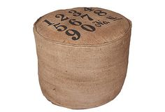 Jute Pouf, Numbers