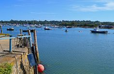 Bembridge Harbour From St Helens - Isle of Wight