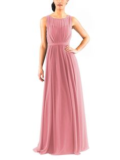 38ed47f2c78 Jenny Yoo Vivienne Pleated Chiffon Gown Size 10 PRIME ROSE  52 NWT