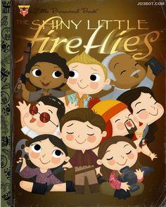 The Shiny Little Fireflies - Little Golden Book