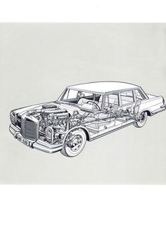 Mercedes Engine 1982-85 300d Turbodiesel (external Engine
