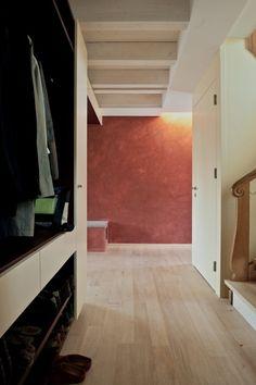 Umbau Einfamilienhaus Umiken | Minergie, Baubiologie und Raumqualität Bad Wand, Wordpress, Website, Home Decor, Plastering, Stair Treads, Detached House, Architecture, Colour