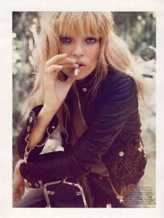 Kate Moss, rock'n roll babe