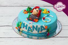 tort dla dziewczynki, tort angielski, Ariel Cake, tort z Syrenka Arielka, tort syrenka, tort angielski tort w masie cukrowej, tort urodzinowy