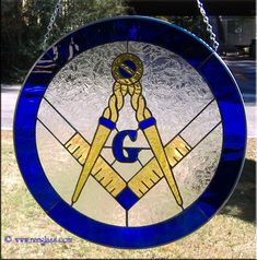 Masonic Masonic Order, Masonic Art, Masonic Lodge, Masonic Symbols, Stained Glass Projects, Stained Glass Patterns, Stained Glass Panels, Stained Glass Art, Eastern Star