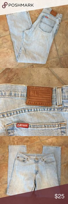 Men's polo Ralph Lauren jeans Size 10x33 Cut: 87243 size 10x33 Saturday jeans Please feel free to ask any questions or make an offer, and as always THANK YOU for shopping my posh closet! Xoxo -Tish Polo by Ralph Lauren Jeans