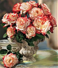 Trandafiri pentru flori taiate recomandati pentru buchete de flori. - FamousRoses.eu
