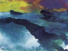 Emil Nolde, High Sea