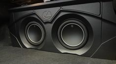 Car Speaker Box, Speaker Box Design, Custom Car Interior, Car Interior Design, Custom Car Audio, Car Audio Installation, Subwoofer Box Design, Passat B6, Jl Audio